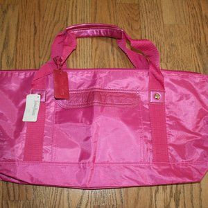 NEIMAN MARCUS LARGE TOTE DUFFLE BAG HANDBAG PURSE